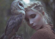Best friends with a barn owl. (Photo from Faerie Magazine) Fairy Land, Fairy Tales, She Wolf, Owl Art, Fantasy Girl, Bored Panda, Spirit Animal, Faeries, Beautiful Creatures