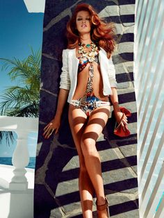 Heide Lindgren for Guess by Marciano Spring 2012 Campaign