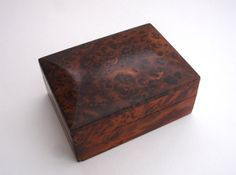 Wooden Box Vintage Wooden Box Vintage Storage by FillyGumbo