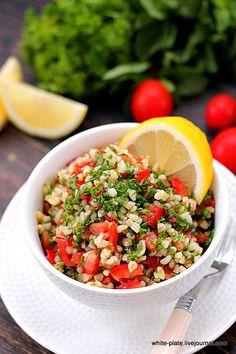 Табуле или салат с булгуром