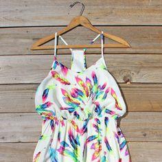 Feather Seeker Maxi Dress
