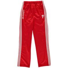 Philadelphia Phillies Majestic Youth Girl's Original Track Pants - Red - $26.99