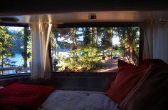 Panormaic Windows, Airstream Bambi by tnkbuzan, via Flickr