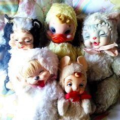 Rushton rubber face toys