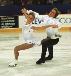 Shae-Lynn Bourne and Viktor Kraatz performing in the 1993 Skate Canada gala.