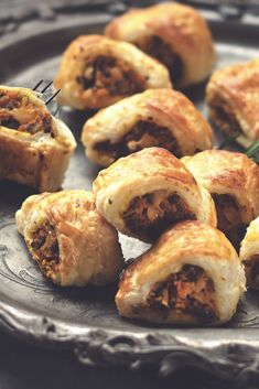 Learn how to make Butternut Squash Sausage Rolls with Quorn Meat Free Mince using our easy recipe. The perfect finger food to serve at a Christmas party.
