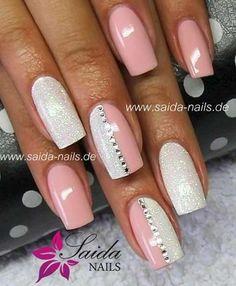 Nails ideas :classy beautiful nail art games-cute nail designs of 2013 Fancy Nails, Trendy Nails, Love Nails, How To Do Nails, Gel Nail Designs, Cute Nail Designs, Nails Design, Coral Nails With Design, Fingernail Designs