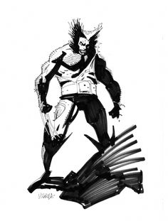Wolverine by Mike Mignola                                                                                                                                                      More