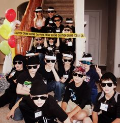 Many different themed party ideas like Secret Agent Spy Party