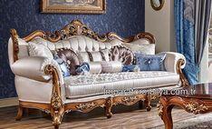 Luxury Furniture Stores, Royal Furniture, Classic Furniture, Furniture Decor, Furniture Design, Sofa Design, Interior Design, Elegant Home Decor, Elegant Homes