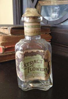 Antique French perfume bottle c. 1880's