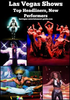 Las Vegas Shows - schedule of entertainment on the Strip