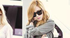 1k edits Jessica snsd airport jessica jung girls generation girls' generation blonde!!