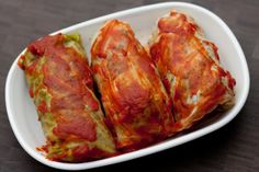 Russian Cabbage Rolls (Голубцы).  ok Denis.  I'll try to get my own style, but these look awsome!