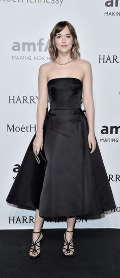 """Dakota Johnson on amfAR Milano 2015 - Red Carpet on September, 26 """