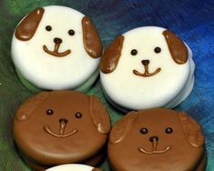 """""""Pure Puppy Love"""" Chocolate-Covered Oreo Favors"""