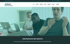 4Team Consulting is a best flat clean and modern responsive HTML5 Bootstrap theme template for corporate consulting business profile. This theme has a elegant modern look