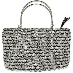 @Overstock - Reclaim Allure Poptop Handbag (Mexico) - This innovative handbag is made from reclaimed soda pop tops by an artisan group in Mexico. This stylish and eye-catching bag will make an ecological addition to your look.  http://www.overstock.com/Worldstock-Fair-Trade/Reclaim-Allure-Poptop-Handbag-Mexico/5042838/product.html?CID=214117 $62.99