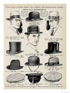 mens hats 1920s - 2 | sid | Flickr