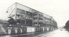 Hampden Park's brooding North Stand, demolished 1981.