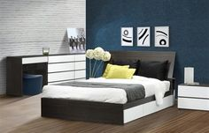 Nexera Allure Bedroom Set