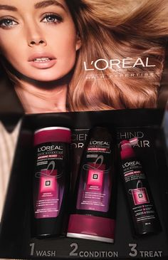 @LorealParisCAN and @Influenster My Loreal Paris Hair Expertise Arginine Resist X3 VoxBox !
