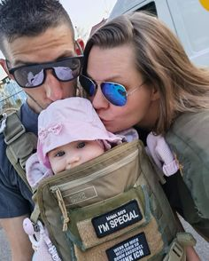 """""""Your carrier is awesome and I am very proud to wear your product."""" -Pascale Ergonomic Baby Carrier, 35 Pounds, Black And Grey, Dads, Action, Awesome, How To Wear, Group Action, Fathers"""