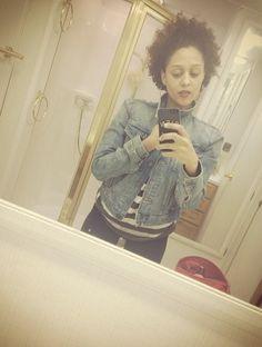 Tia Mowry natural hair