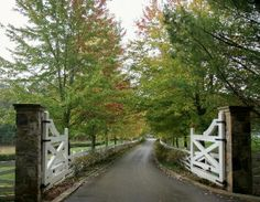 Stone columns and Gates at Blackberry Farms on www.humblepedigree.com blog