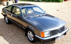 Opel Monza coupé - this pic shows how the Senator front end was unchanged for the coupé