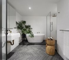 trendy bathroom tub with tile marbles Bathroom Renos, Laundry In Bathroom, Bathroom Flooring, Bathroom Renovations, Bathroom Interior, Modern Bathroom, Bathroom Ideas, Bathroom Designs, Bathroom Faucets