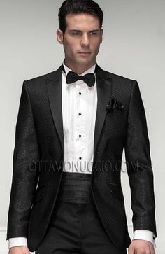 #TheOscars #BlackTie #Tuxedo Model Details => http://www.ottavionuccio.com/it/completo/ongala-191.html