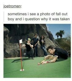 XD He's even holding the pool que backwards << Patrick's just like, 'Come on Pete you got this' XD