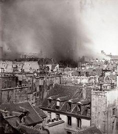 Resultado de imagem para paris toits vintage photo