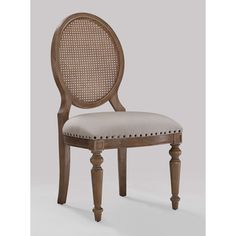 Elements Weathered Oak Cane Back Dining Chairs (Set of 2) - Overstock™ Shopping - Great Deals on Dining Chairs