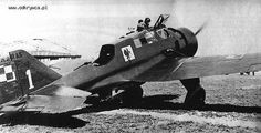 Karaś Ww2 Aircraft, Military Aircraft, Safari, Invasion Of Poland, Vintage Airplanes, Dog Fighting, Aircraft Design, Armed Forces, World War Two