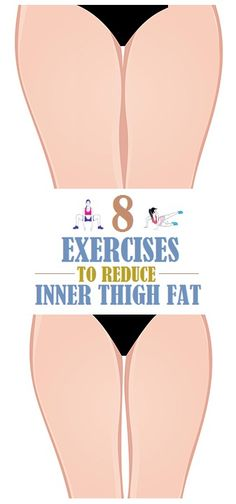 8 Simple Exercises to Reduce Inner Thigh Fat.