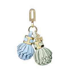 YORK DUO TASSEL KEY FOB