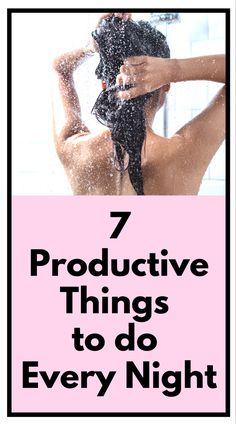 Evening Routine, Night Routine, Evening Curls, 7 Hours Of Sleep, Beauty Games, Task To Do, Productive Things To Do, Declutter Your Life, Productivity Hacks
