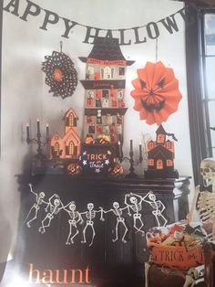 Pottery barn Halloween countdown calendar