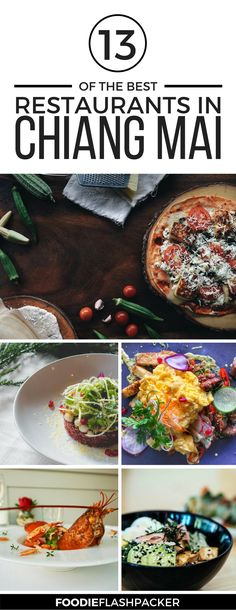 You are a foodie and you are heading to Chiang Mai, Thailand? You'll love it, with so many great restaurants in Chiang Mai to choose from. Check out this long guide to where to eat in Chiang Mai for foodies.   Chiang Mai food restaurants   Chiang Mai travel tips   things to do in Chiang Mai   Chiang Mai best restaurants #chiangmai #foodie - via @foodieflashpack
