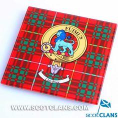 Bruce Clan Crest Gla
