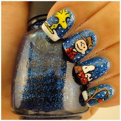 We scoured the Web and found the wackiest and tackiest holiday nail art ideas.
