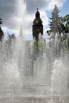 Fountain, Kosice, Slovakia New Buffalo, Central Europe, My Town, Bratislava, Czech Republic, Mesto, Places Ive Been, Fountain, Beautiful Homes