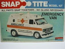 VINTAGE 70's MONOGRAM SNAP TITE AMBULANCE VAN - first model I put together without any help Childhood Toys, Model Kits, Slot Cars, Ambulance, Vintage 70s, Recreational Vehicles, Growing Up, The Past, Monogram