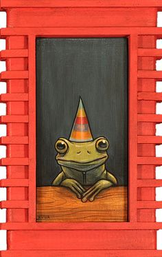 """Frog Party"" Kelly Vivanco"
