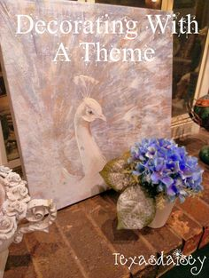 Texasdaisey Creations: Decorating With A Theme