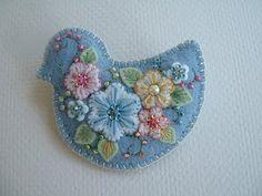 sweet chubby bluebird by Paulette of Beedeebabee