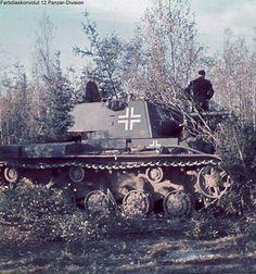 A Russian KV-1 in German service
