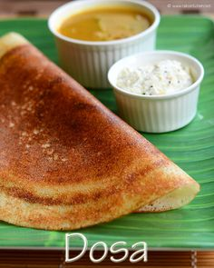 South Indian dosa recipe - easy to make, ground in mixer, step by step pictures!